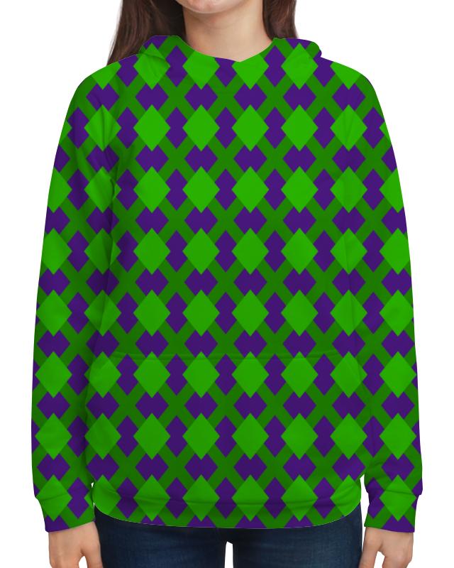 Толстовка с полной запечаткой Printio Зеленая графика