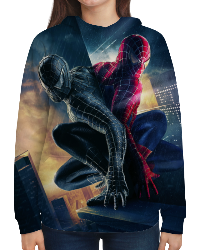 Толстовка с полной запечаткой Printio Человек - паук