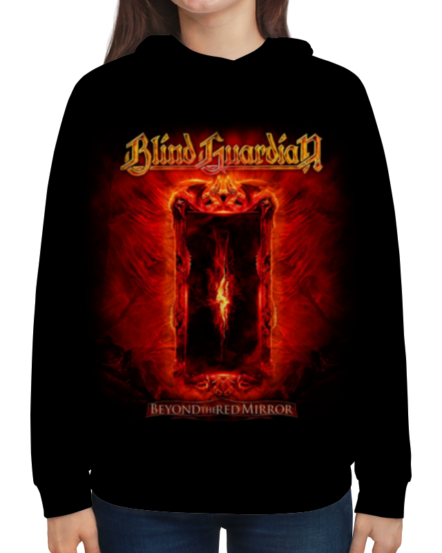 Толстовка с полной запечаткой Printio Blind guardian blind guardian blind guardian beyond the red mirror