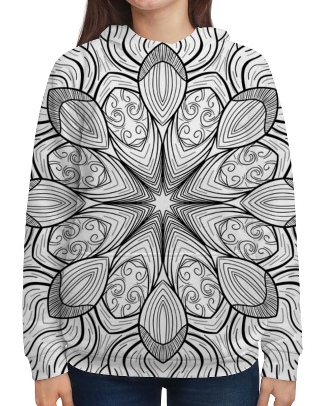Толстовка с полной запечаткой Printio Мандала giftman трафарет мандала 16 21х21см