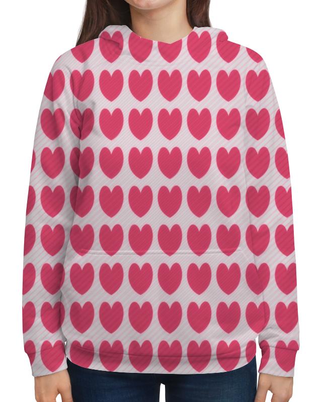 Толстовка с полной запечаткой Printio Розовое сердце борцовка с полной запечаткой printio розовое сердце