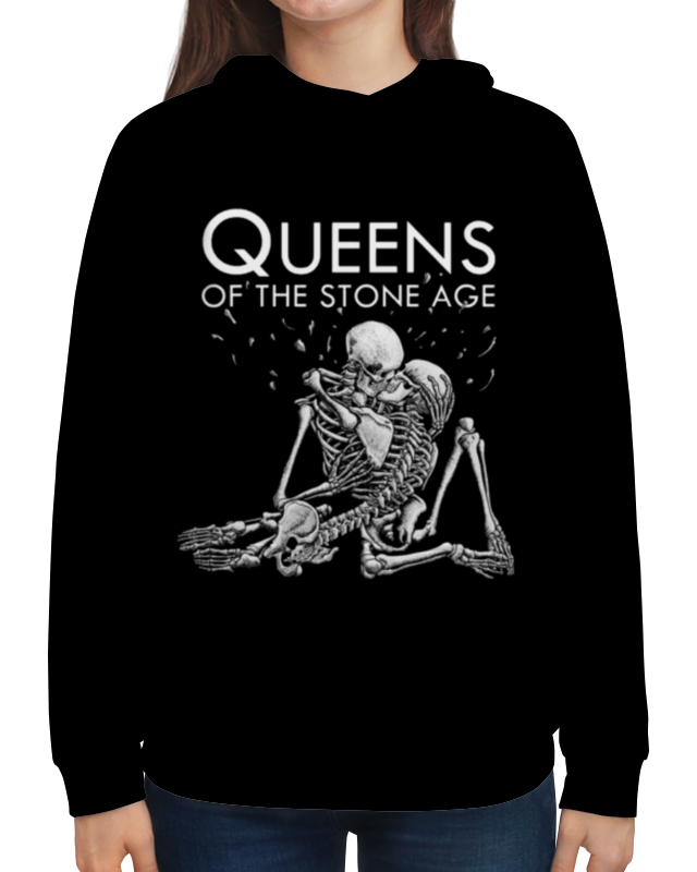 Толстовка с полной запечаткой Printio Queens of the stone age stone b the everything store jeff bezos and the age of amazon