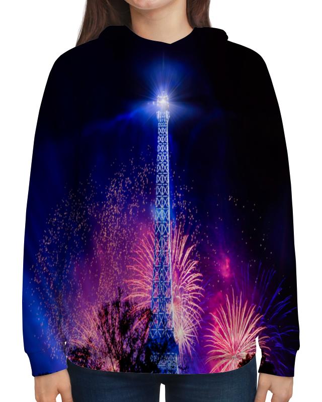 Толстовка с полной запечаткой Printio Эйфелева башня
