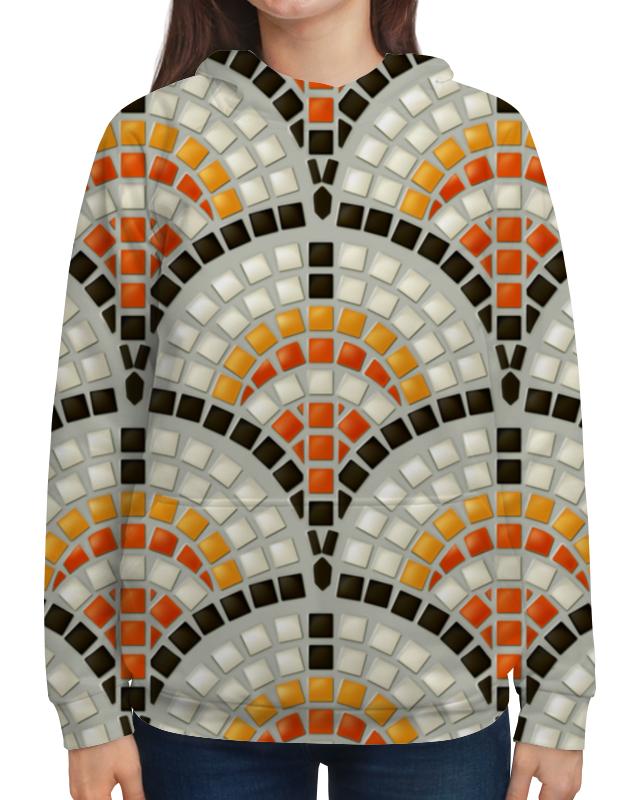 Толстовка с полной запечаткой Printio Античная мозаика