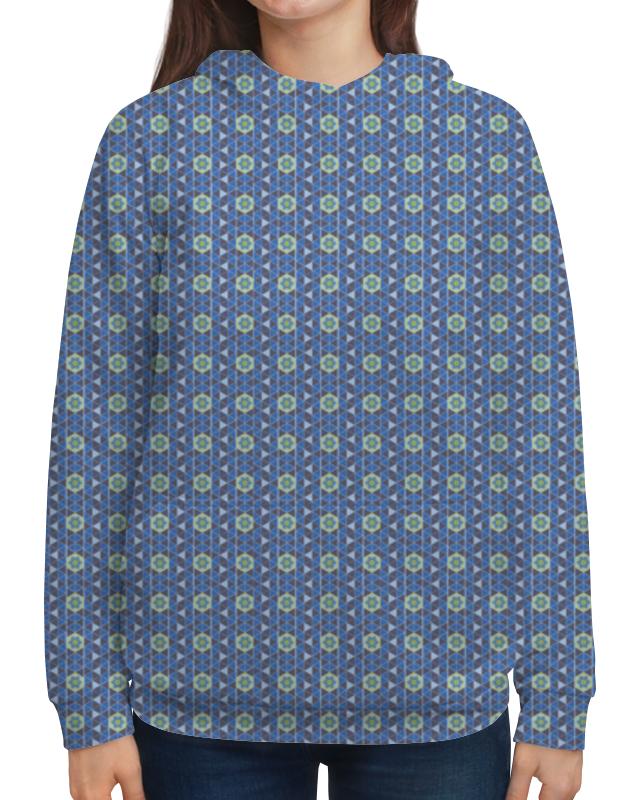 Толстовка с полной запечаткой Printio Геометрический орнамент толстовка с полной запечаткой printio орнамент из кругов