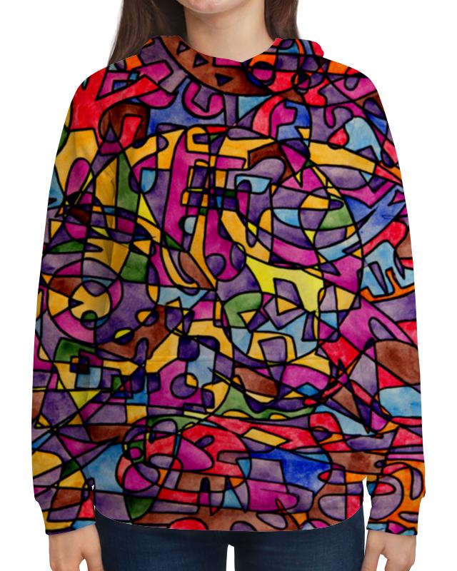 Толстовка с полной запечаткой Printio Rrg`90`90=-= холст 50x50 printio rrg 90 90