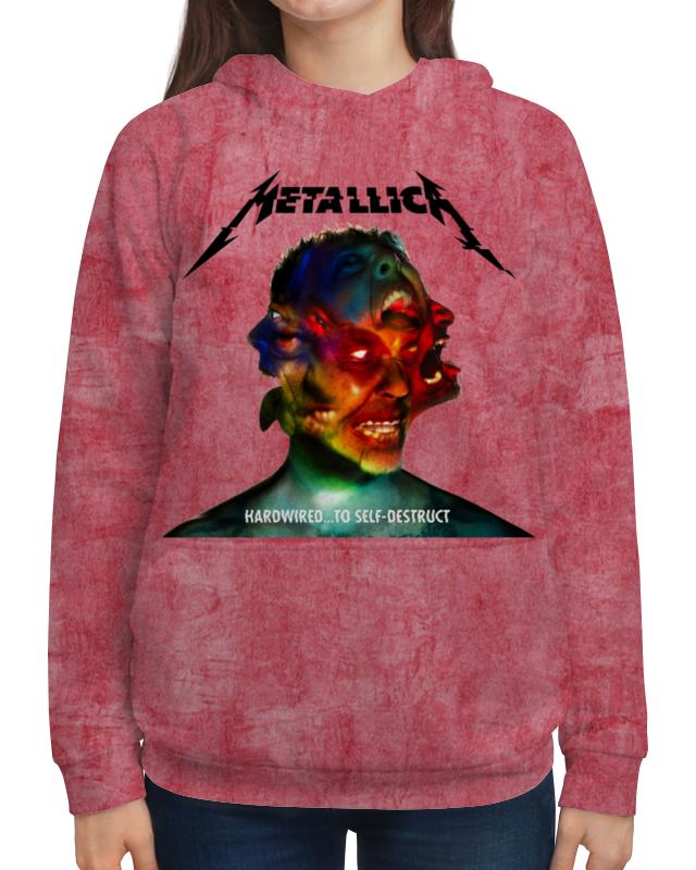 Толстовка с полной запечаткой Printio Metallica band футболка с полной запечаткой женская printio metallica band