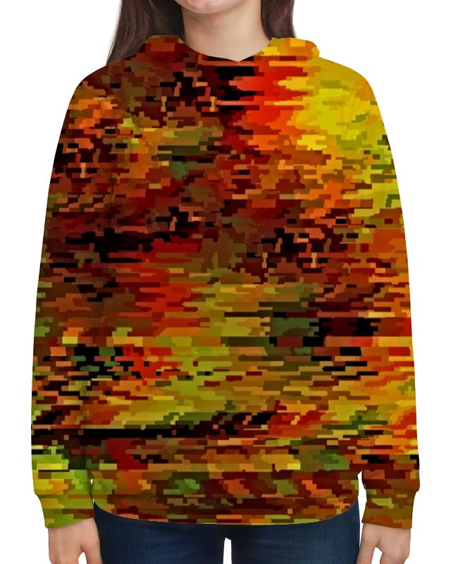 Толстовка с полной запечаткой Printio Краски осени бомбер printio краски осени