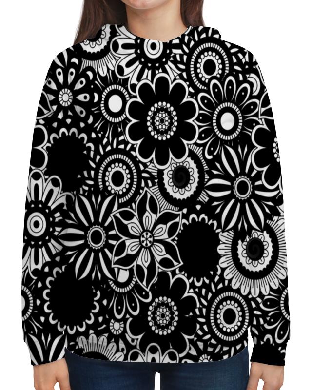 Printio Черно-белые цветы блокнот printio черно белые цветы абстракция