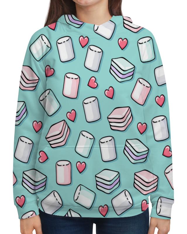 Толстовка с полной запечаткой Printio Воздушный зефир футболка с полной запечаткой для девочек printio воздушный зефир