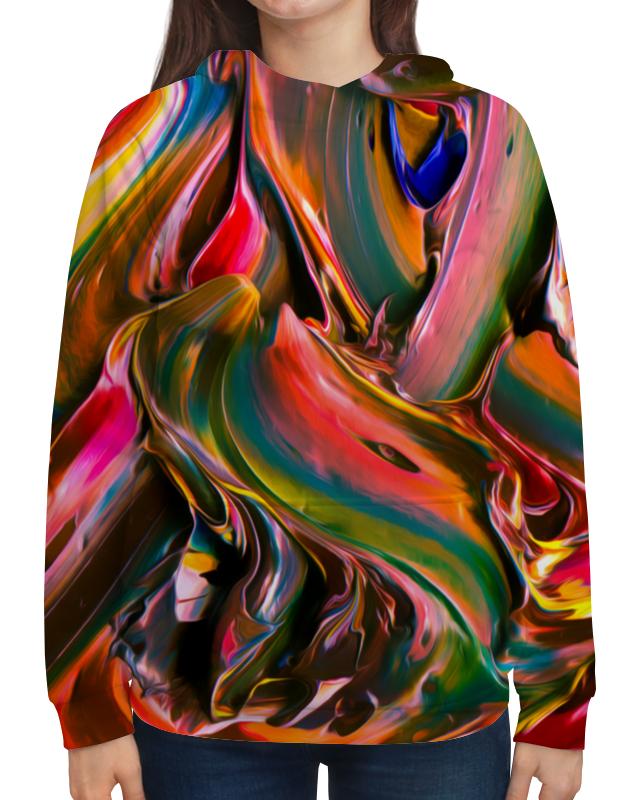Толстовка с полной запечаткой Printio Смесь красок смесь ненни харьков дешевле