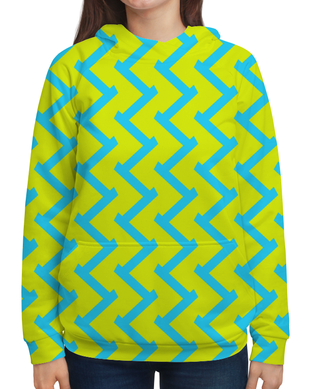 цена на Printio Желто-голубой узор