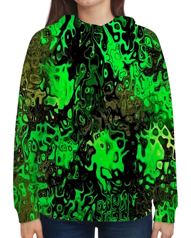 Толстовка с полной запечаткой Printio Серо-зеленый велосипед geuther велосипед my runner серо зеленый