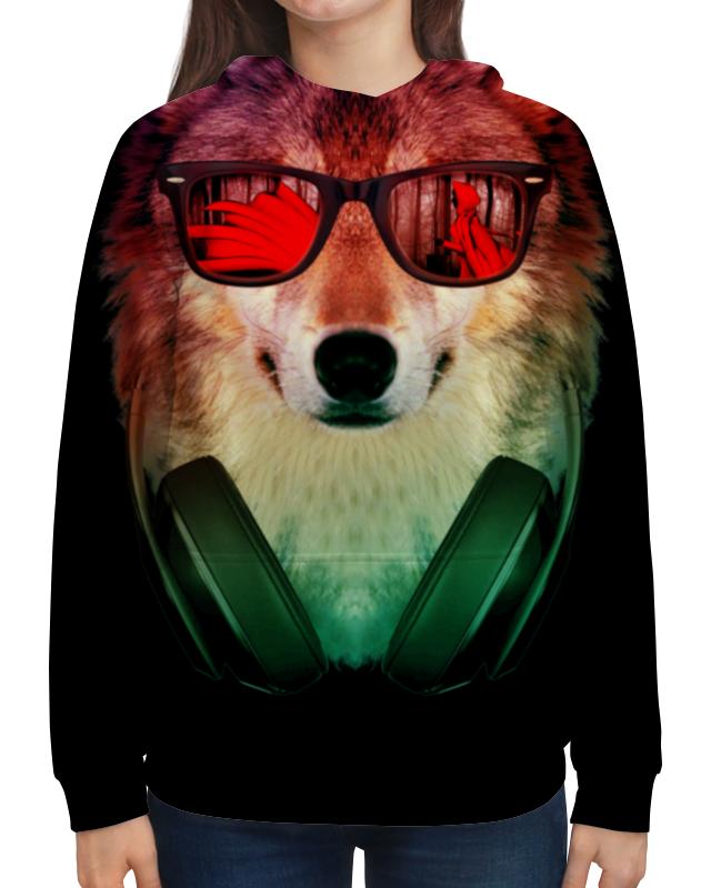 Printio Волк в очках толстовка с полной запечаткой printio череп в очках