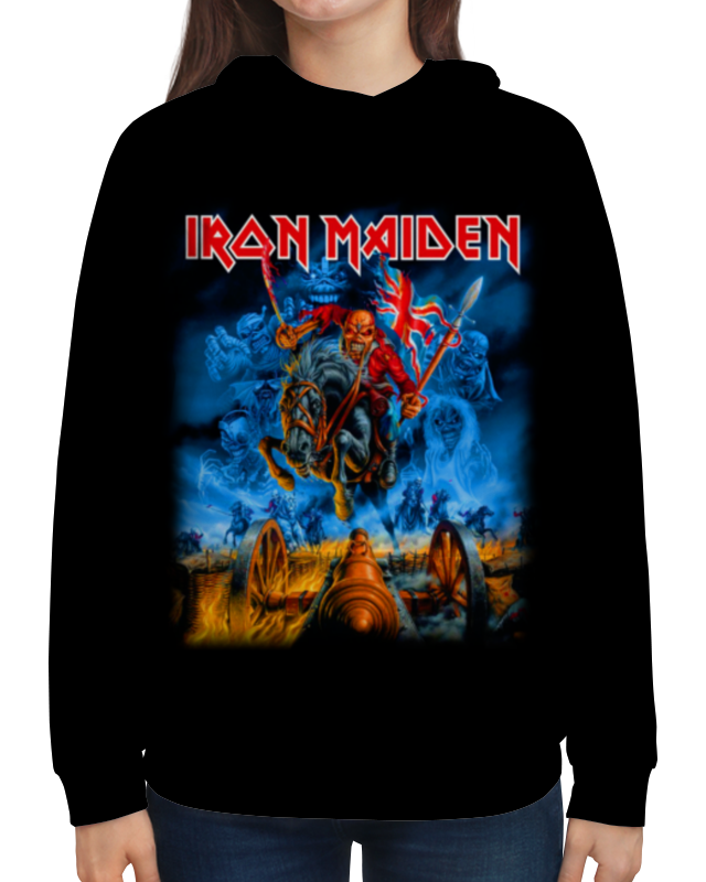Толстовка с полной запечаткой Printio Iron maiden cd iron maiden a matter of life and death