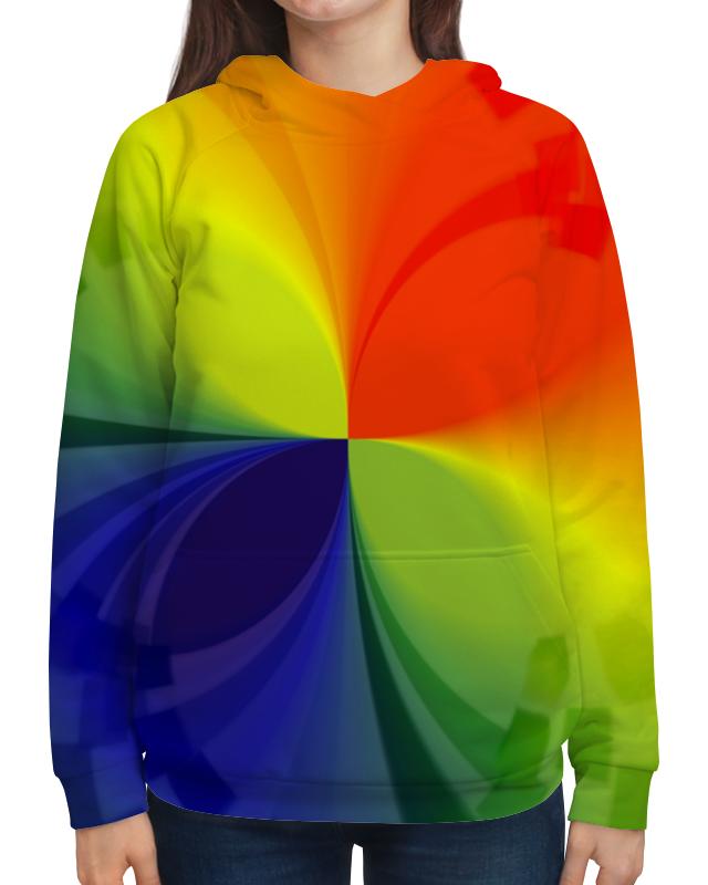 Толстовка с полной запечаткой Printio Цветной калейдоскоп ellis faas ellis faas el861mwks817