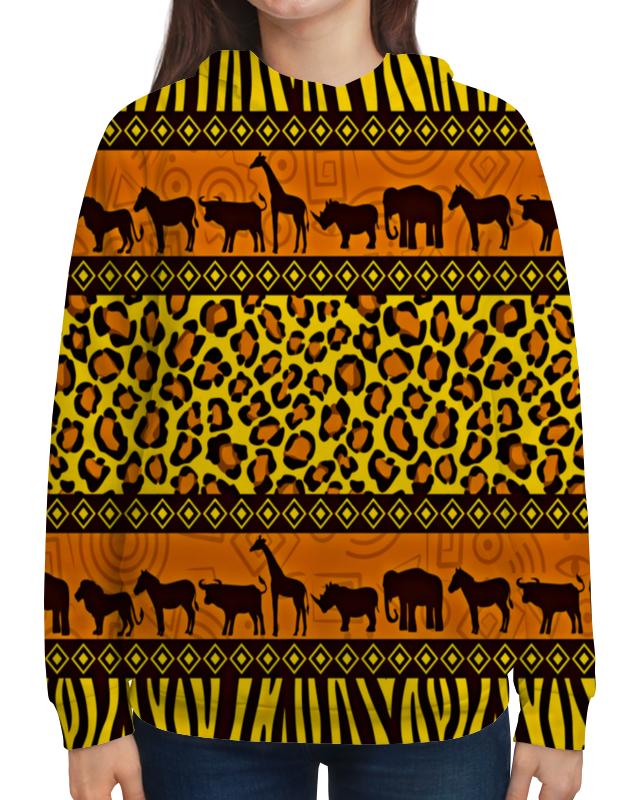 Толстовка с полной запечаткой Printio Африка