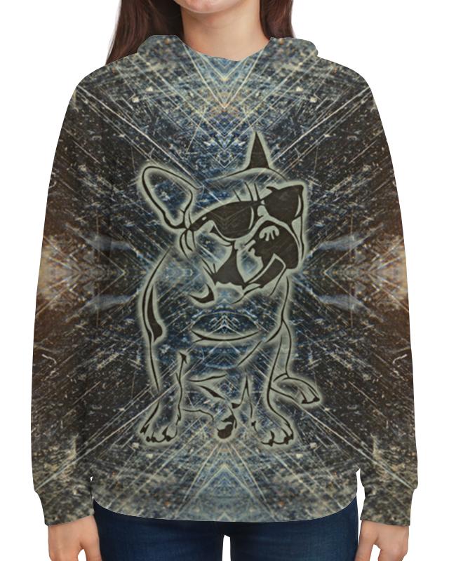 Толстовка с полной запечаткой Printio Doggy юбка doggy dolly размер xl doggy dolly