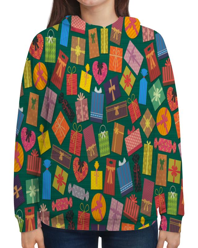 Толстовка с полной запечаткой Printio Подарок фляжку подарок