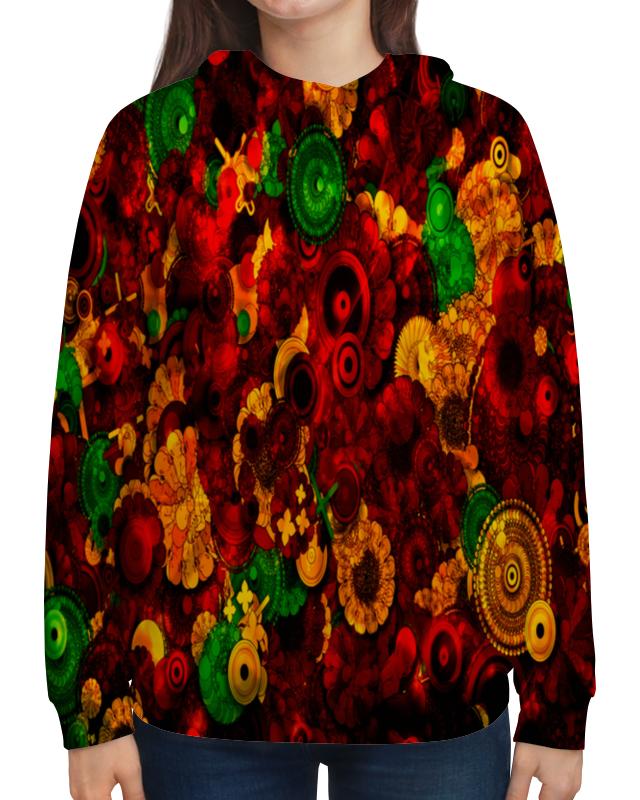 Толстовка с полной запечаткой Printio Цветочная поляна борцовка с полной запечаткой printio цветочная поляна