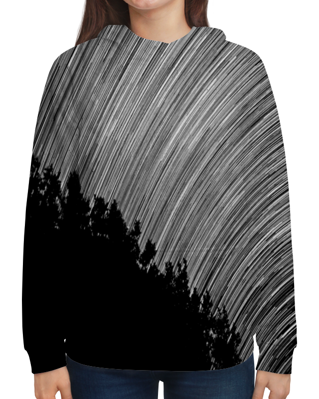 Толстовка с полной запечаткой Printio Эскиз юбка карандаш укороченная printio эскиз