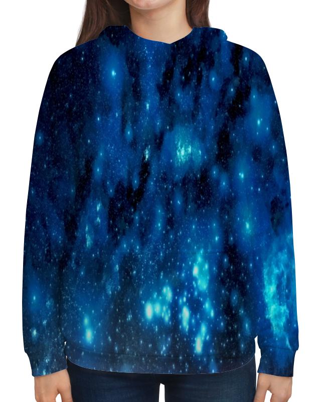 Толстовка с полной запечаткой Printio Звездное небо платье летнее printio звездное небо