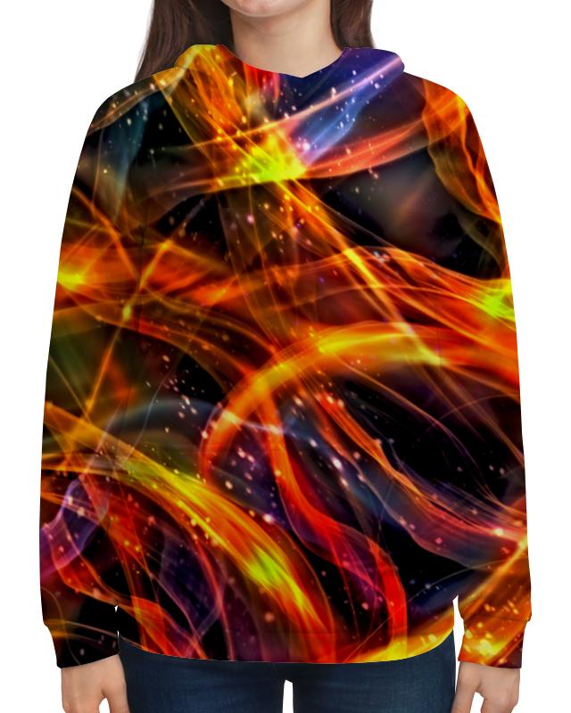 Толстовка с полной запечаткой Printio Пламя платье летнее printio пламя