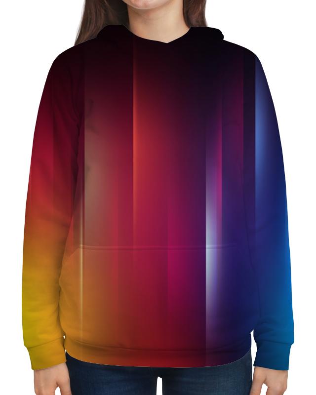 Толстовка с полной запечаткой Printio Переход цвета рубашка поло с полной запечаткой printio переход цвета