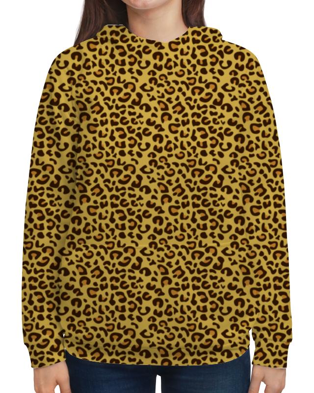 Фото - Толстовка с полной запечаткой Printio Леопардовый сумка с полной запечаткой printio леопардовый