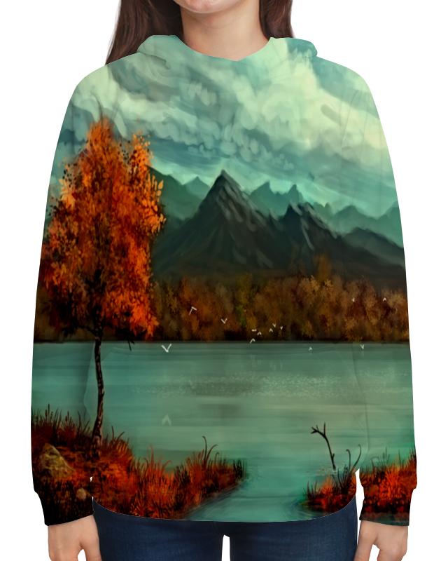цена на Толстовка с полной запечаткой Printio Осень в горах