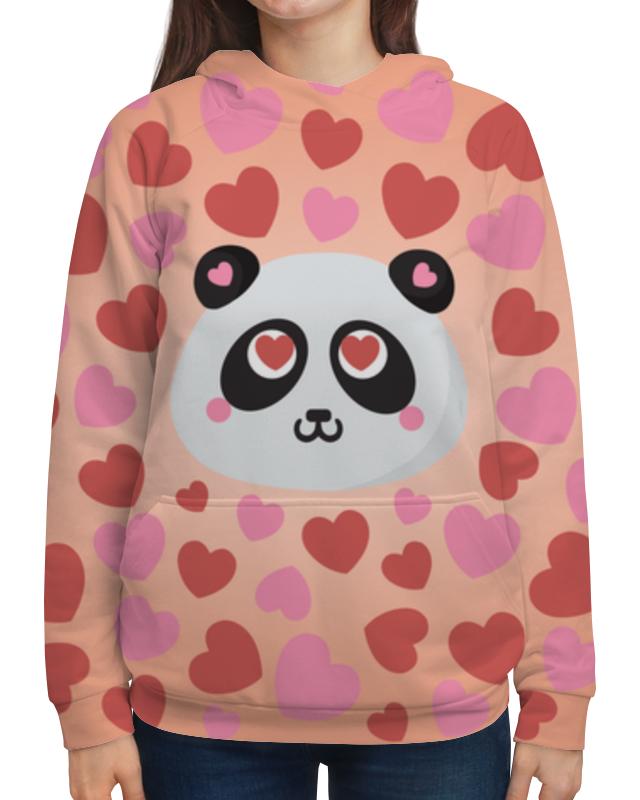 Printio Влюбленная панда толстовка с полной запечаткой printio панда