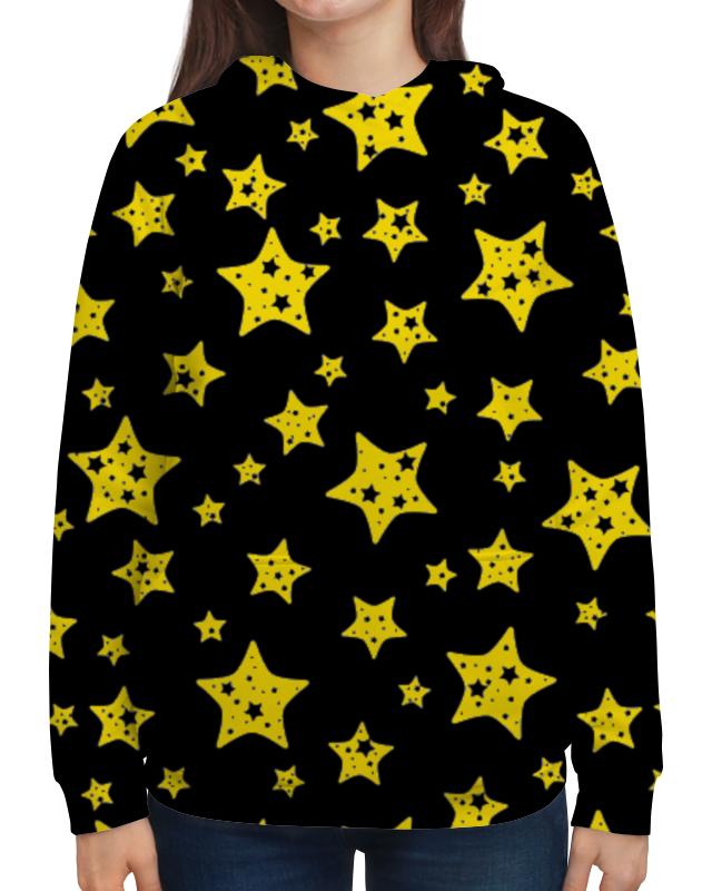Толстовка с полной запечаткой Printio Звёзды цена