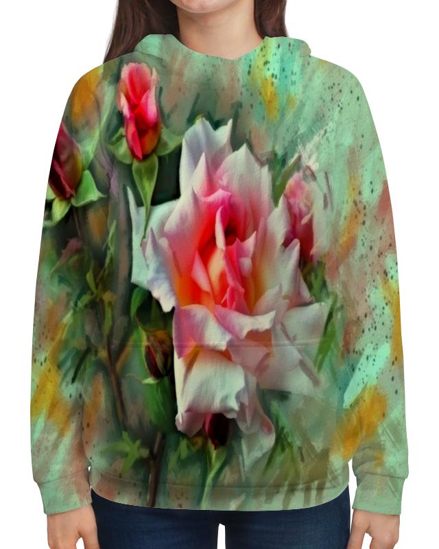 Printio Цветущие розы платье с рукавами printio цветущие розы