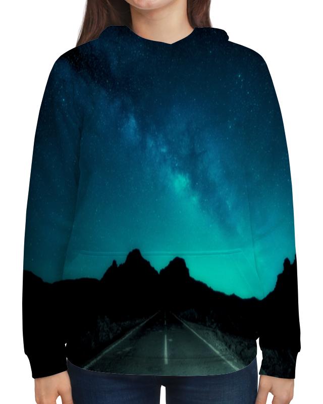 Фото - Толстовка с полной запечаткой Printio Ночная дорога футболка с полной запечаткой мужская printio ночная дорога
