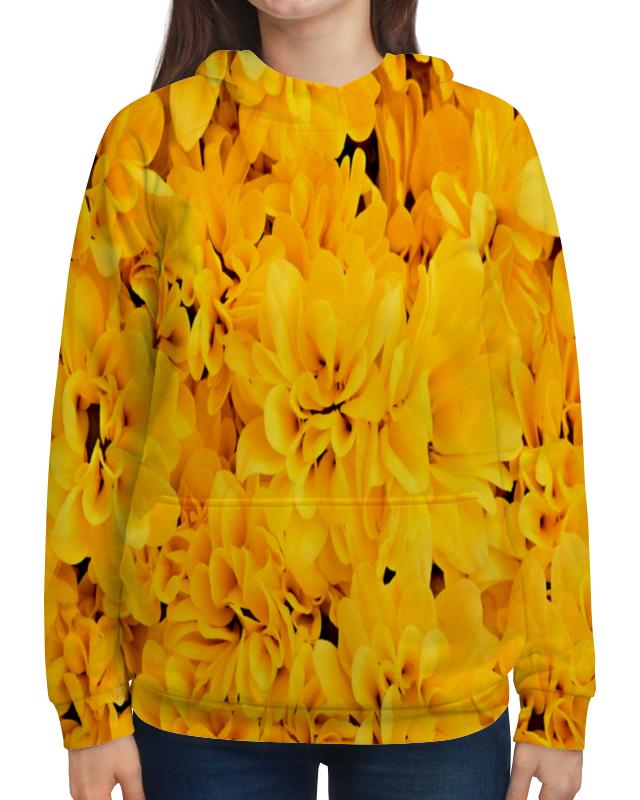 Толстовка с полной запечаткой Printio Желтые цветы рюкзак с полной запечаткой printio желтые цветы