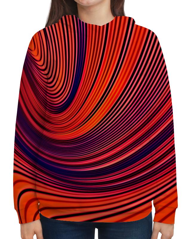 Толстовка с полной запечаткой Printio Цветные полосы юбка карандаш printio цветные полосы