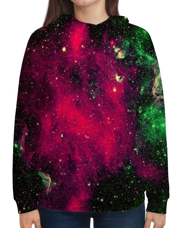 Толстовка с полной запечаткой Printio Галактика