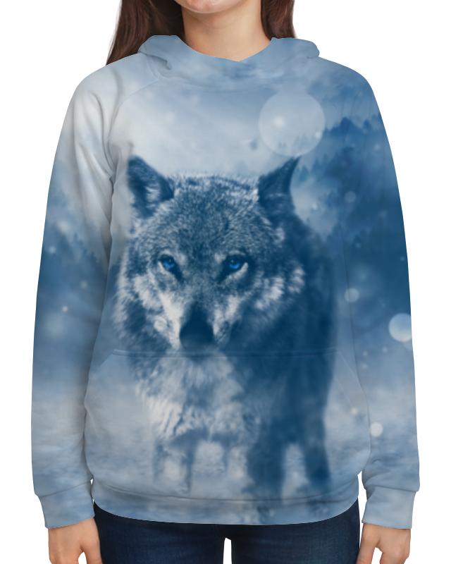 цена на Printio Волк с голубыми глазами