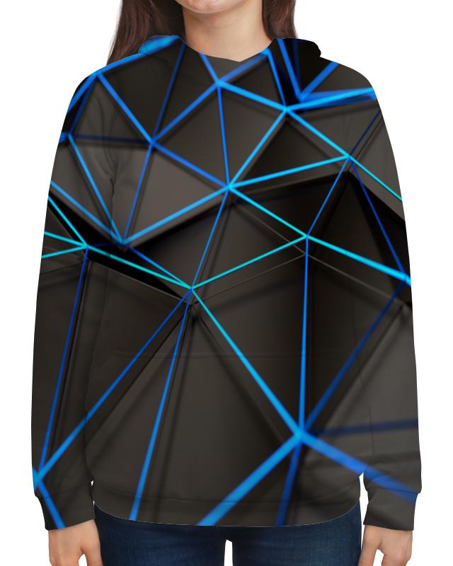 Толстовка с полной запечаткой Printio Абстракция сумка с полной запечаткой printio синяя абстракция