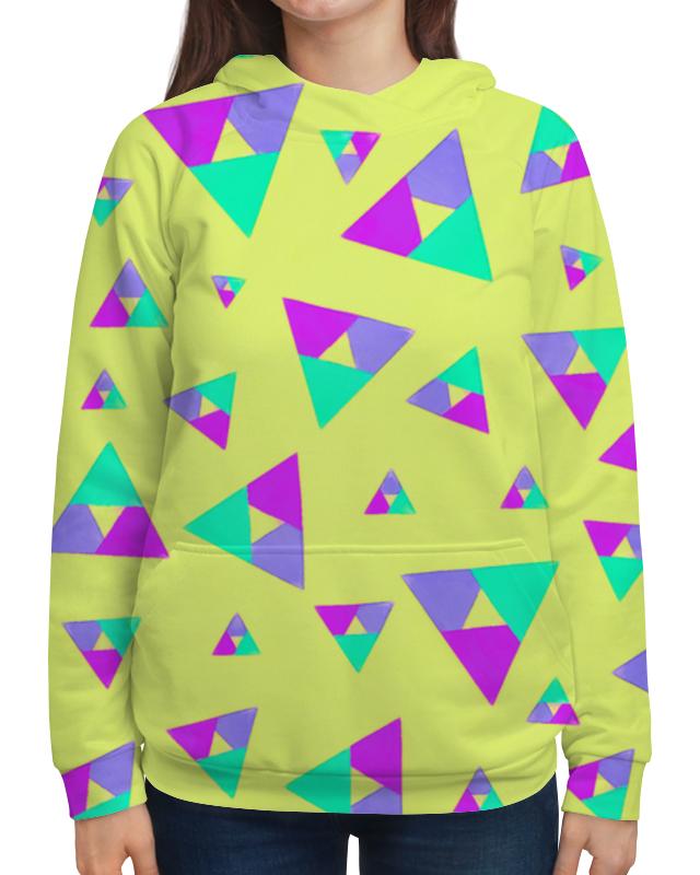 Толстовка с полной запечаткой Printio Треугольники 1 юбка карандаш printio треугольники