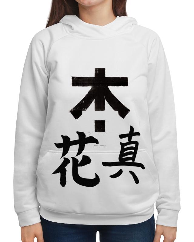 Толстовка с полной запечаткой Printio Япония. минимализм футболка с полной запечаткой женская printio япония минимализм