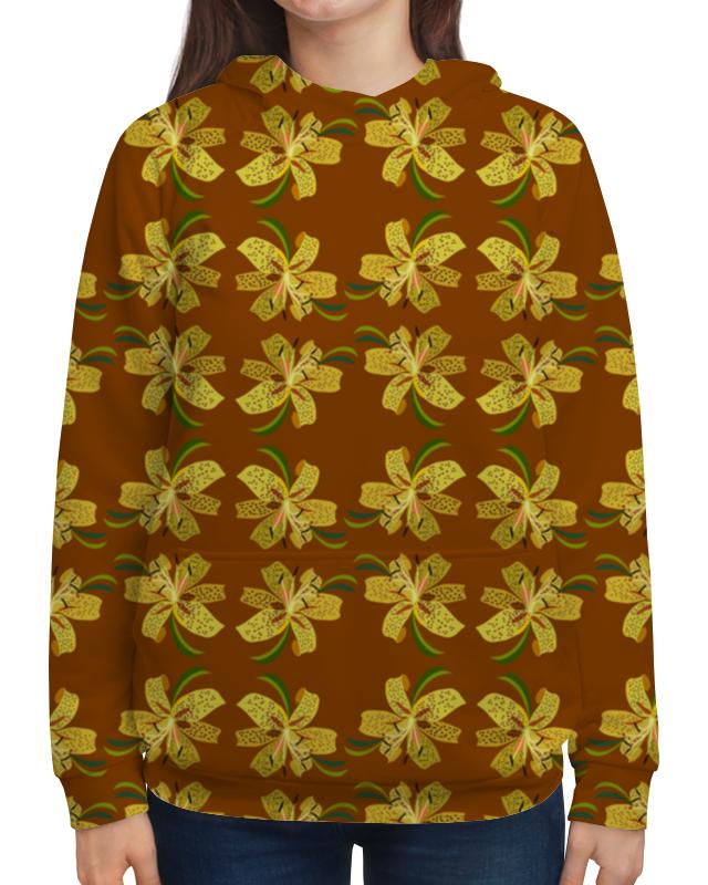 Толстовка с полной запечаткой Printio Тигровые лилии