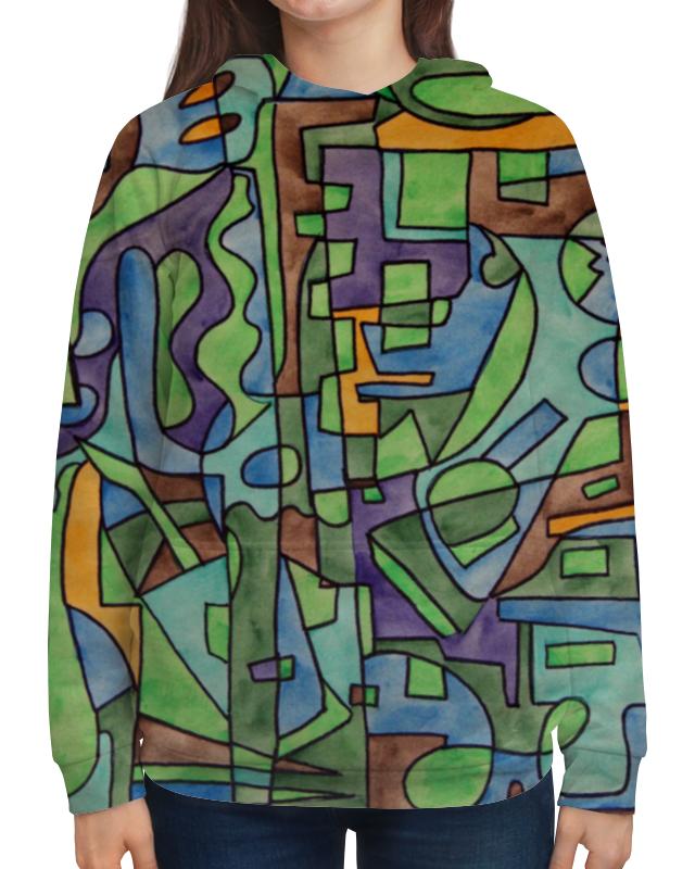 Толстовка с полной запечаткой Printio W`zzzzcx`90.1 юбка в складку printio w zzzzcx 90 1