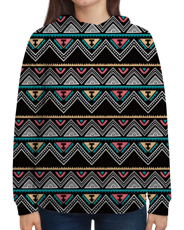 Толстовка с полной запечаткой Printio Графические линии футболка с полной запечаткой женская printio графические линии