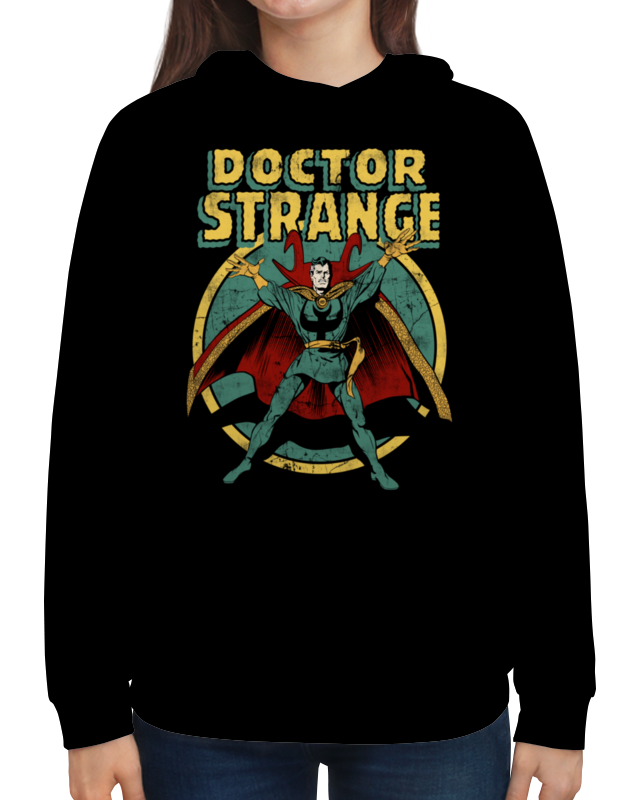 Толстовка с полной запечаткой Printio Доктор стрэндж футболка с полной запечаткой для девочек printio доктор стрэндж