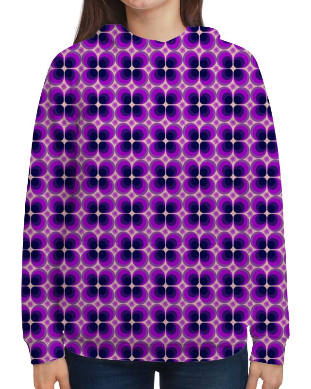 Толстовка с полной запечаткой Printio Орнамент из кругов толстовка с полной запечаткой printio орнамент из кругов