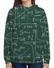 """Толстовка с полной запечаткой """"Математика"""" - символы, математика, формулы, графики, константы"""