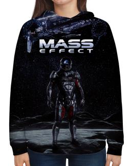 """Толстовка с полной запечаткой """"Mass Effect"""" - mass effect, компьютерные игры, геймерские, масс эффект, n7"""