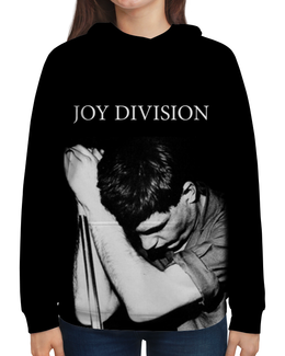 """Толстовка с полной запечаткой (Женская) """"Joy Division"""" - joy division, группы, ian curtis, пост-панк, иен кёртис"""