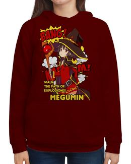 """Толстовка с полной запечаткой """"Мегумин"""" - аниме, манга, konosuba, коносуба, коносуба мегумин"""